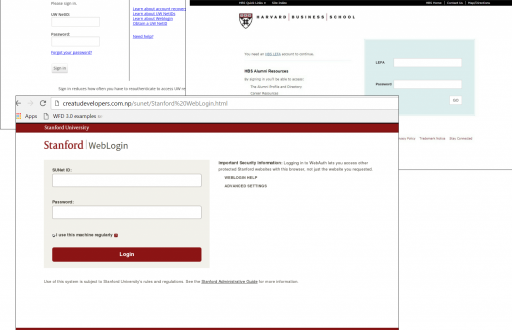 Phishing for knowledge