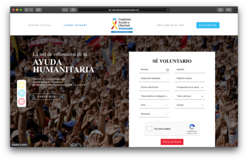 DNS Manipulation in Venezuela in regards to the Humanitarian Aid Campaign