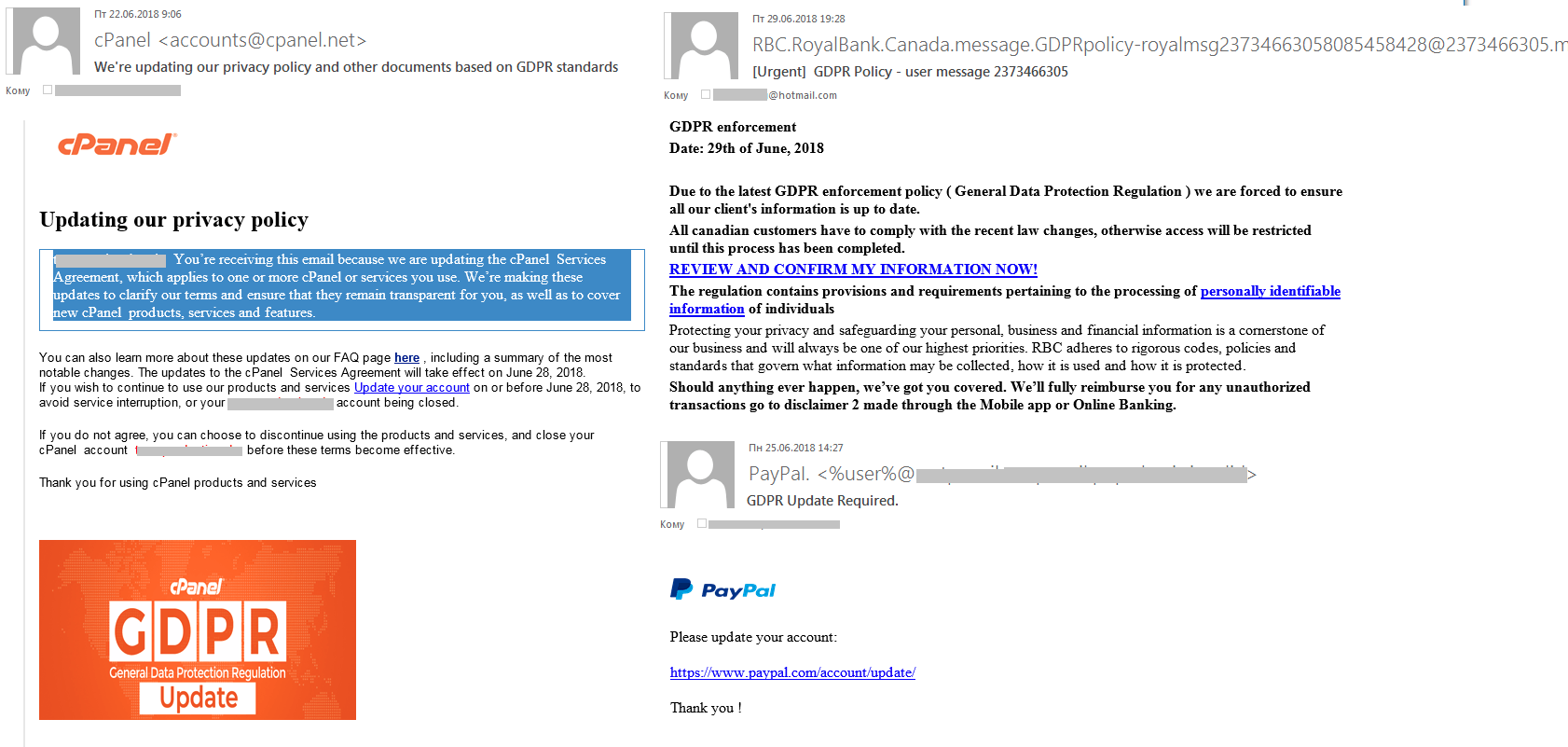 Spam and phishing in 2018